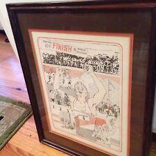 1983 Tupelo Mississippi Gum Tree Festival 10K Run Framed Print,7th Annual