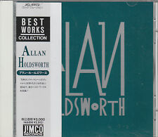 Allan Holdsworth CD BEST WORKS COLLECTION  JAPAN + OBI
