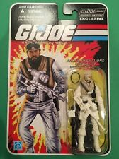 GI JOE FSS 3.0 Frostbite Arctic Club Exclusive Joecon New COBRA POC  30TH