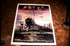 CASSANDRA CROSSING ORIG MOVIE POSTER 1977 TRAIN BURT LANCASTER