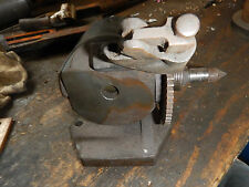 OLDER SMALL INDEX SPIN CENTER HEAD FOR MILL GRINDER DIVIDNG HEAD MACHINIST JIG