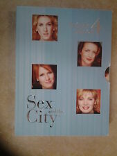 27469//SEX AND THE CITY INTEGRALE SAISON 4 COFFRET  DVD EN TBE