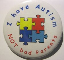 AUTISM BADGES Great Awareness Badges For Your Child 50mm pin badge D2