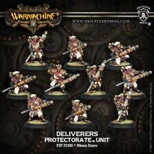WARMACHINE Protectorate of Menoth PIP32100 Deliverers Unit Box (10) NEW