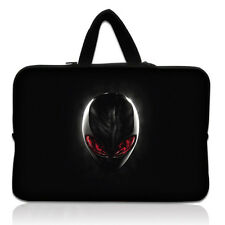 "Cool Alien Design Laptop Sleeve Bag Case+Hide Handle For 17"" inch Dell Alienware"