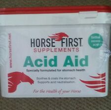 Horse First Acid Aid 1.5kg Horse Equine Digestion Health Supplement