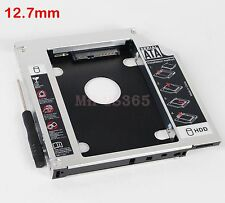 SATA 2nd HDD SSD Hard Drive Disk Caddy Optical CD DVD Bay Adapter For Asus K53SV
