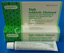 FOUGERA Triple Antibiotic 0.5oz First Aid Ointment Neomycin Polymyxin Bacitracin