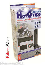 Oxford Essential Commuter Heated Hot Grips Motorcycle Grips NEW OF771