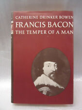 Francis Bacon The Temper of a Man 1963   Bowen  Hard Cover with Dust Jacket