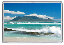 Table Mountain South Africa Fridge Magnet 01