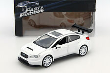 M. Little Nobody 's subaru wrx sti presque and Furious 8 blanc 1:24 jada toys