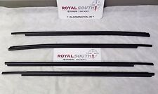 Toyota Tundra CrewMax Door Belt Moulding 4pc Kit Set Weatherstrip Genuine OEM OE