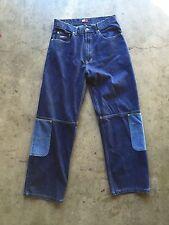 Vintage 90s Tommy Hilfiger Jeans Work Denim Knee Pockets sz 32 x 32
