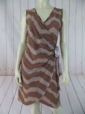 Jon & Anna NY Dress M Pullover Stretch Knit Poly Spandex Faux Wrap Boutique Chic