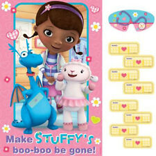 DOC McSTUFFINS PARTY GAME POSTER ~ Pin the Tail Donkey Birthday Party Supplies