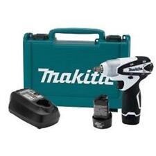 """Makita and Cordless Drill Set 12V Max Lithium Ion 3/8"""" Drive Impact Wrench Kit"""