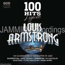 ARMSTRONG, LOUIS - Louis Armstrong - 100 Hits Legends - 5 CD Box Set