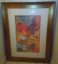 "Dynamic Shapes Framed Picture by Emerson 49"" x 37"" Frame"