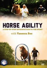 Horse Agility DVD-A Step-by-Step Introduction to the Sport Vanessa Bee-BRAND NEW