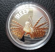 2009 LIONFISH AUSTRALIA SEA LIFE THE REEF 1/2 Oz Proof Silver