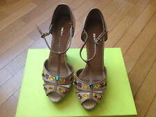 DKNY Donna Karan NY Scarpe Décolletés Mary Jane Platforms Shoes Size 6,5 x 36 EU