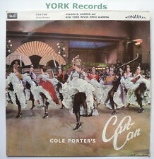 CAN-CAN - Cast Recording - Excellent Condition LP Record Filelio TLA 9082
