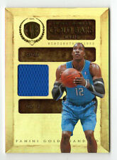 DWIGHT HOWARD NBA 2010-11 PANINI GOLD STANDARD GOLD BARS MATERIAL (ORLANDO MAGIC