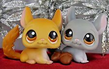 Littlest Pet Shop *LPS* TAN GRAY CHINCHILLA #340 #144 Accessory Food ~ GIFT BAG!
