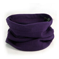 Fashion Thermal Fleece Beanie Hat Snood Scarf Neck Warmer Ski Balaclava Unisex