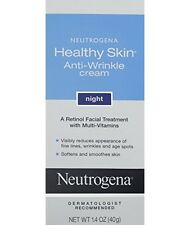 Neutrogena Healthy Skin Anti-Wrinkle Cream Night 1.4 OZ.