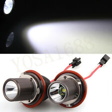 2* H8 10W LED CREE Angel Eye Light White for BMW E39 E53 E65 E66 E60 E61 E63 E64
