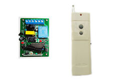 1Channel AC110V-220V 1000m Remote Control Switch Relay on/off for light motor