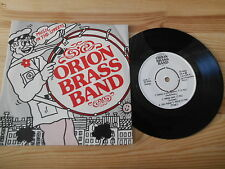 """7"""" Pop Orion Brass Band - Music In The Streets (5 Song) LALAHAGADAN MUSIC"""