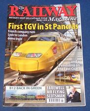 THE RAILWAY MAGAZINE MAY 2012 - FIRST TGV IN ST PANCRAS
