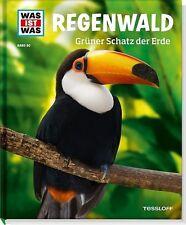 WAS IST WAS Band 90: REGENWALD, Grüner Schatz der Erde, NEUAUFLAGE neues Design!