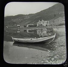 Glass Magic lantern Slide VOSS FLEISCHER HOTEL  C1900 . NORWAY L65