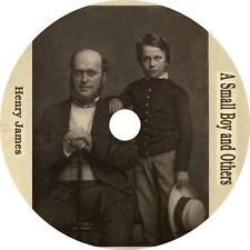 A Small Boy and Others, Henry James Autobiography Travel Audiobook on 1 MP3 CD