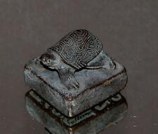 China kleiner Stempel in Form einer Schildkröte