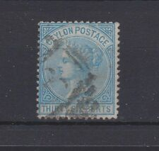 CEYLON 70 Victoria 1872 used 36 cents