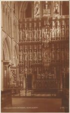 BR69290 southwark  cathedral altar screen london  uk judges 168 real photo