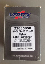 Vertex Piston Kit 2000-2003 HONDA CR125  22685050 OVERSIZE 54.50mm