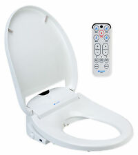 brondell swash white bidet toilet seat remote s1000 round elongated