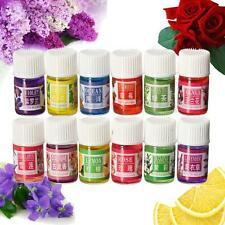 Natural Aromatherapy 3ml Pure Relax Therapeutic Plant Essential Oils Gift Set