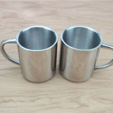 Stainless Steel Double Wall Mug Travel Tumbler Coffee Tea Milk Cup Healthy Hot