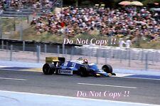 Allen Berg Osella FA1G Francés Grand Prix 1986 fotografía 2