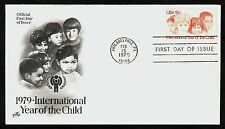 #1772 15c Year of the Child, Art Craft FDC **ANY 4=FREE SHIPPING**