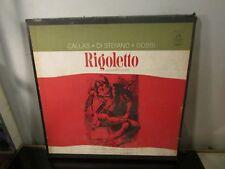 TULLIO SERAFIN verdi rigoletto 3 LP RARE