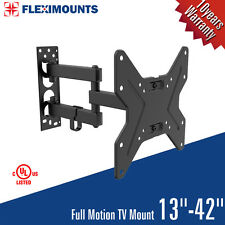 Full Motion TV Wall Mount Swivel Bracket 20 26 32 40 42 Inch LED LCD Flat Screen