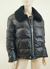 JUNYA WATANABE COMME des GARCONS Black Down / Feather Puffa Jacket Coat Sz: L